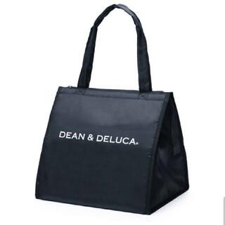 ディーンアンドデルーカ(DEAN & DELUCA)のDEAN&DELUCA クーラーバッグ L ブラック 新品未使用(弁当用品)