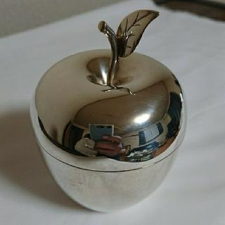 ティファニー(Tiffany & Co.)のティファニー アップル 小物入れ シルバー makers ピルケース まとめ(小物入れ)