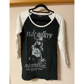 ルードギャラリー(RUDE GALLERY)のルードギャラリーラグランTシャツサイズ2(Tシャツ/カットソー(七分/長袖))