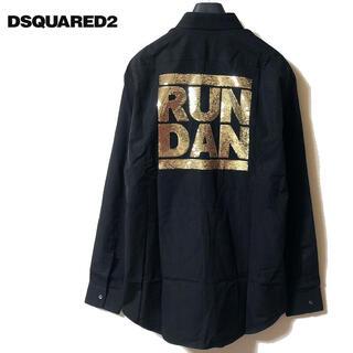 ディースクエアード(DSQUARED2)の新品 DSQUARED2 ディースクエアード RUNDAN コットン 長袖シャツ(シャツ)