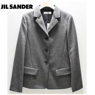 ジルサンダー(Jil Sander)の《ジル サンダー》新品 イタリア製 起毛 裏地シルク 上質ウールジャケット 34(テーラードジャケット)