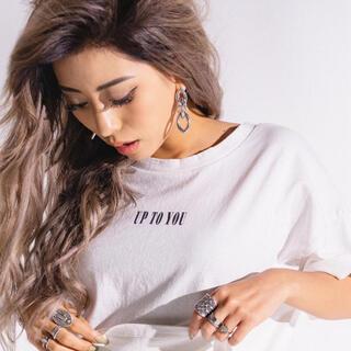 エゴイスト(EGOIST)のup to you tシャツ ブラック(Tシャツ(半袖/袖なし))