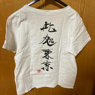エックスガール(X-girl)の【最終値下げ】中古 X-GIRL エックスガール Tシャツ ONESIZE(Tシャツ(半袖/袖なし))
