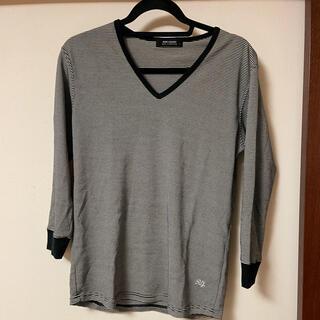 ルードギャラリー(RUDE GALLERY)のルードギャラリーVネック7分丈カットソーサイズ3(Tシャツ/カットソー(七分/長袖))