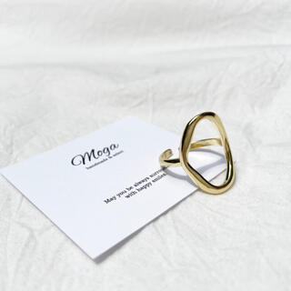 ユナイテッドアローズ(UNITED ARROWS)のS925 ゴールド ニュアンスリング フリーサイズ インポート(リング(指輪))