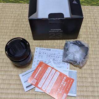 富士フイルム - 富士フイルム Fujinon  XF 23mm F1.4 美品 + おまけ