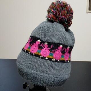 カシラ(CA4LA)のCA4LA ニット帽 カシラ(ニット帽/ビーニー)