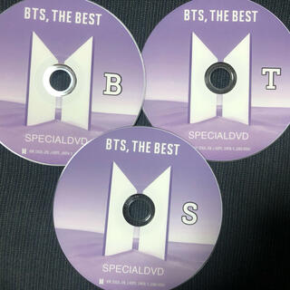 BTS THE BEST SPECIAL DVD  3枚組