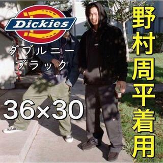 Dickies - A【野村周平着用】36/30 ディッキーズ ダブルニー ワークパンツ ブラック