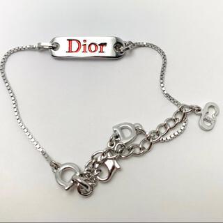 クリスチャンディオール(Christian Dior)のChristian Dior クリスチャンディオール ブレスレット 正規品(ブレスレット/バングル)
