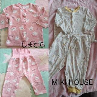 ミキハウス(mikihouse)のパジャマ 80 2点セット(パジャマ)