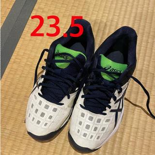 アシックス(asics)のテニスシューズ 23.5cm アシックス(テニス)