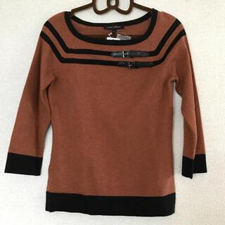 ローラアシュレイ(LAURA ASHLEY)のタグ付き 未使用 ローラアシュレイ セーター ブラウン(ニット/セーター)