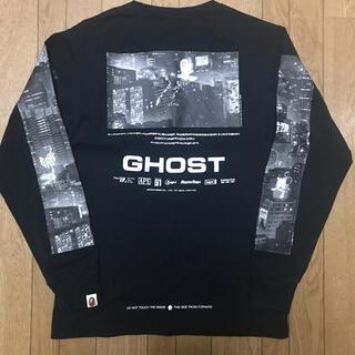 アベイシングエイプ(A BATHING APE)のBape ghost l/s tee ゴースト ロンT 長袖 Sサイズ(Tシャツ/カットソー(七分/長袖))