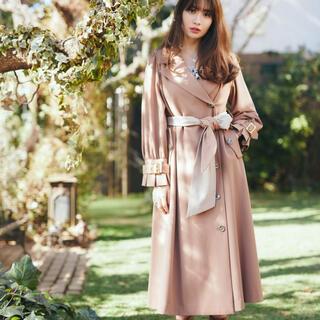 フレイアイディー(FRAY I.D)のherlipto Belted Dress Trench Coat(トレンチコート)