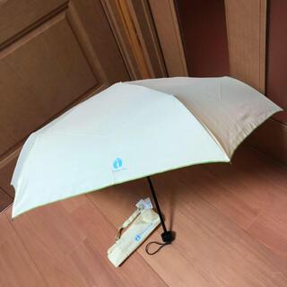 ハンテン(HANG TEN)の❤︎新品❤︎HANG TEN折りたたみ傘 レモンイエロー(傘)