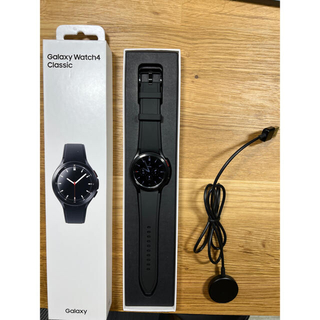 ギャラクシー(Galaxy)のGalaxy watch4 Classic 42mm/Black 国内版(腕時計(デジタル))