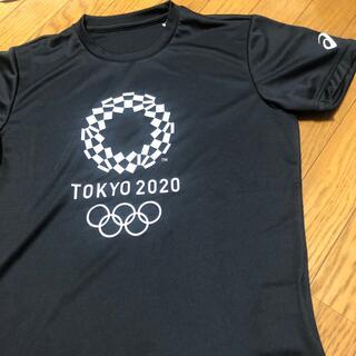 asics - 美品 アシックス 東京オリンピック2020 公式Tシャツ ブラック M