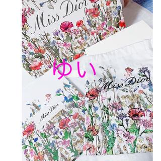 ディオール(Dior)のミスディオールイベント限定ノベルティノート巾着ポーチショッパー新品未使用非売品(ポーチ)