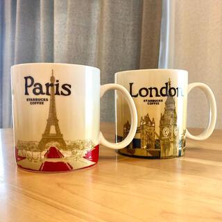 Starbucks Coffee - 海外スタバ マグカップ/ロンドン・パリ 2個組