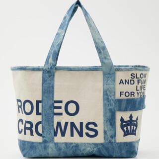 ロデオクラウンズワイドボウル(RODEO CROWNS WIDE BOWL)のロデオクラウンズ  トートバッグ キャンバス  たいだい 新品未使用 タグ付(トートバッグ)