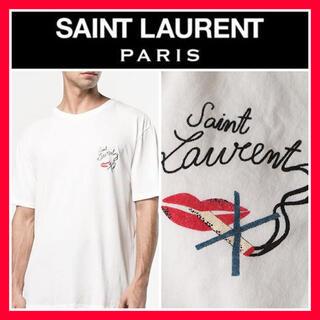 Saint Laurent - 希少■心斎橋購入■SAINT LAURENT PARIS サンローラン Tシャツ