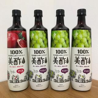 コストコ(コストコ)の016 美酢 ミチョ 4本セット ざくろ マスカット(ソフトドリンク)