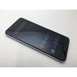 シャープ(SHARP)のSIMフリー美品au AQUOS R2 SHV42 ブラック255(スマートフォン本体)
