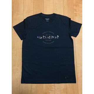 COACH - 【新品未使用】コーチ coach ロゴ入り 花柄 刺繍 Tシャツ☆