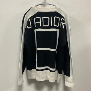 クリスチャンディオール(Christian Dior)のChristianDIOR クリスチャン ディオール ロゴ編み ニット セーター(ニット/セーター)