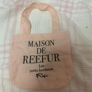 メゾンドリーファー(Maison de Reefur)のメゾンドリーファー  ショッパー トートバッグ s(ショップ袋)