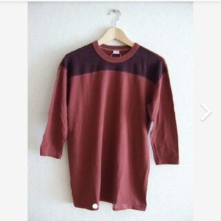 ビームス(BEAMS)のENTRY SG エントリーエスジー 七分袖 フットボール TシャツREMEDY(Tシャツ/カットソー(七分/長袖))