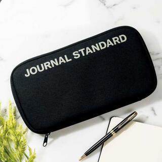 ジャーナルスタンダード(JOURNAL STANDARD)の再値下げ‼️新品‼️ジャーナル スタンダード 収納ポーチ 黒 InRed 付録(ポーチ)
