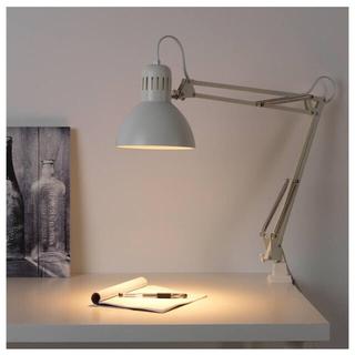 IKEA - 電球 ランプ ライト シェード アーム 白 ホワイト テルティアルTERTIAL