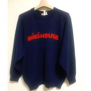ミキハウス(mikihouse)の【年代物/vintage】mikiHOUSE/ミキハウス/ロゴ/ニット(ニット/セーター)