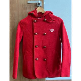 ダントン(DANTON)のDANTON ダントン ウールモッサ 赤 ジャケット コート 34(その他)