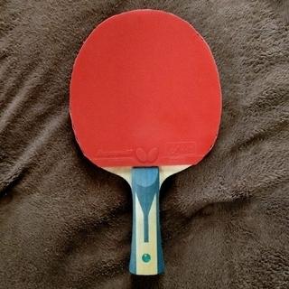 BUTTERFLY - 美品 卓球ラケット シェーク ティモボルzlf FL 両面ディグニクス
