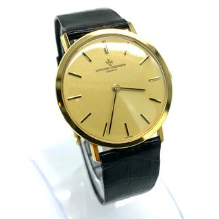 ヴァシュロンコンスタンタン(VACHERON CONSTANTIN)の純正 ヴァシュロンコンスタンタン 18k ウォッチ 手巻き ハイブランド 腕時計(腕時計(アナログ))
