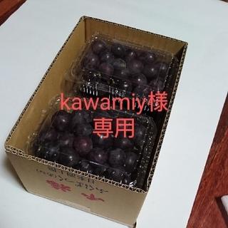 kawamiy様専用 2.4K 紫玉、雄宝(切り落とし)加工用(フルーツ)