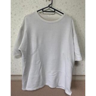 レイジブルー(RAGEBLUE)のTシャツ カットソー 無地T 白T 古着(Tシャツ/カットソー(半袖/袖なし))