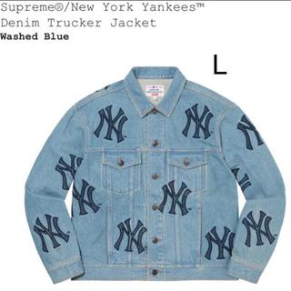 Supreme - Supreme New York Yankees Denim Trucker