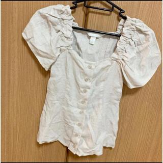 エイチアンドエム(H&M)のH&M エイチアンドエム Tシャツ シャツブラウス レディース 半袖 レディース(Tシャツ(半袖/袖なし))