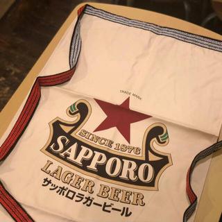 サッポロ(サッポロ)の前掛け サッポロラガービール 赤星(アルコールグッズ)