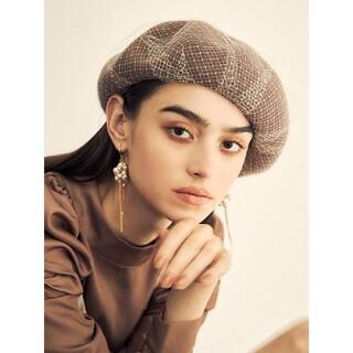 エイミーイストワール(eimy istoire)のエイミーイストワール チュールベレー帽(ハンチング/ベレー帽)