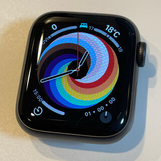 Apple - Apple Watch SE 40mm GPSモデル  BT98% 長期保証付