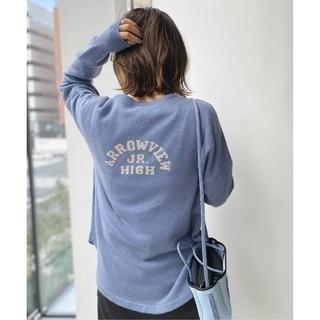 L'Appartement DEUXIEME CLASSE - 【GOOD GRIEF】Cashmere Logo Knit Pullover