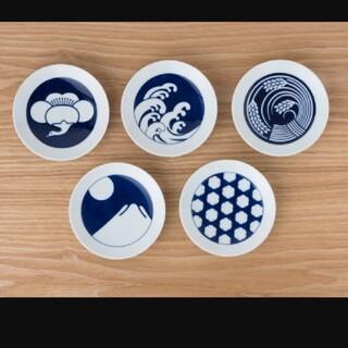 HASAMI -  KIHARA KOMON 豆皿 5枚セット 季節紋 katakat 新品