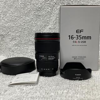 Canon - 美品 Canon  交換レンズ EF16-35F4L IS USM
