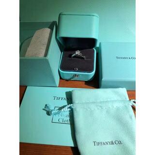 Tiffany & Co. - ティファニー ハーモニー プラチナ ダイヤモンド リング 0.6ct