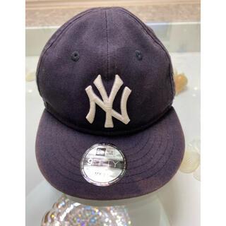 ニューエラー(NEW ERA)のNEW ERA CAP ニューエラキャップ マイファーストサイズ ネイビー(帽子)